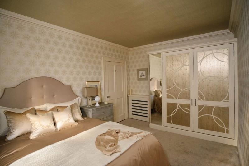Edinburgh Interior Design Chic Bedroom 800x534