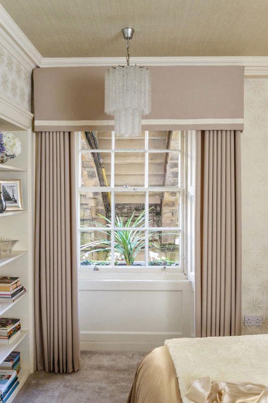 Edinburgh Interior Design Chic Bedroom Window