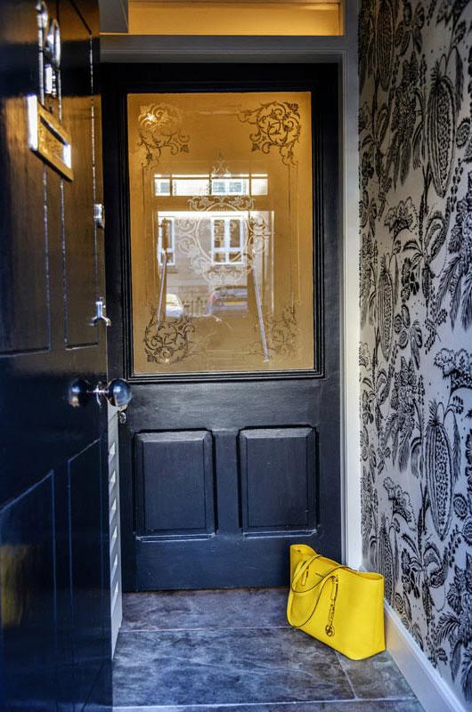 Edinburgh Interior Design Chic Front Door