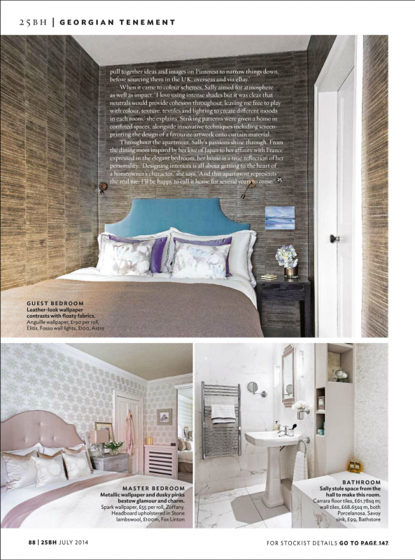 interior design edinburgh bedroom