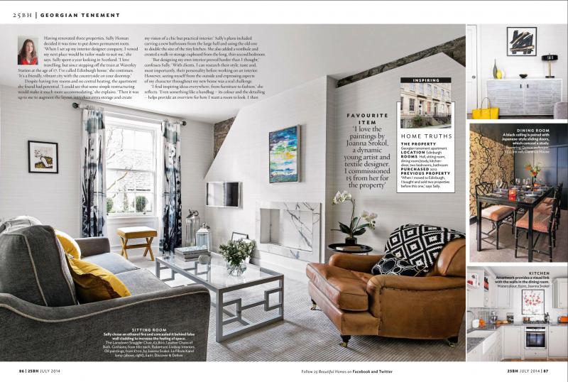 Sally Homan interior design edinburgh
