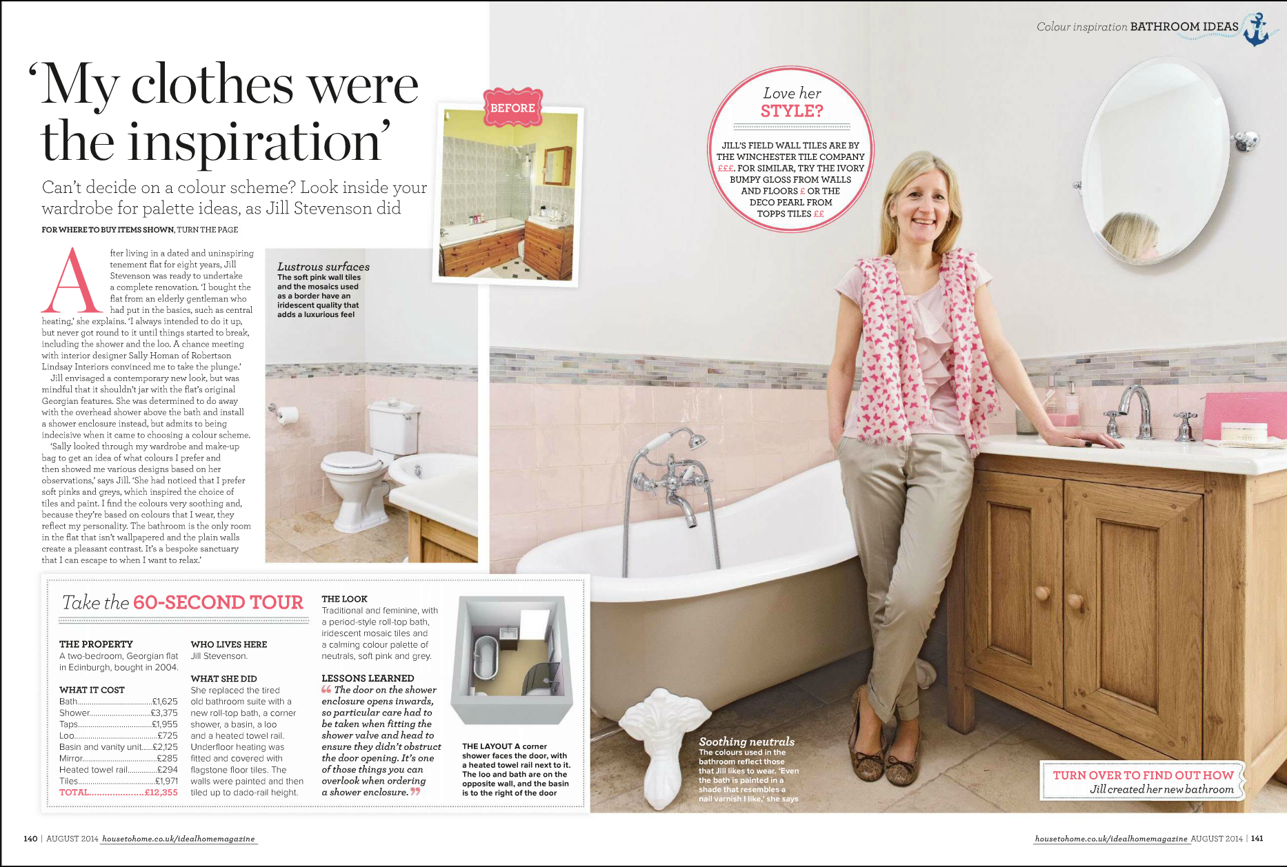 In The Press Ideal Home Magazine Feature Our Interior Design