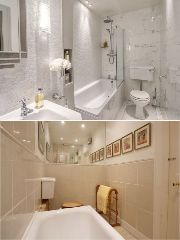 befroe and after fettes bathroom