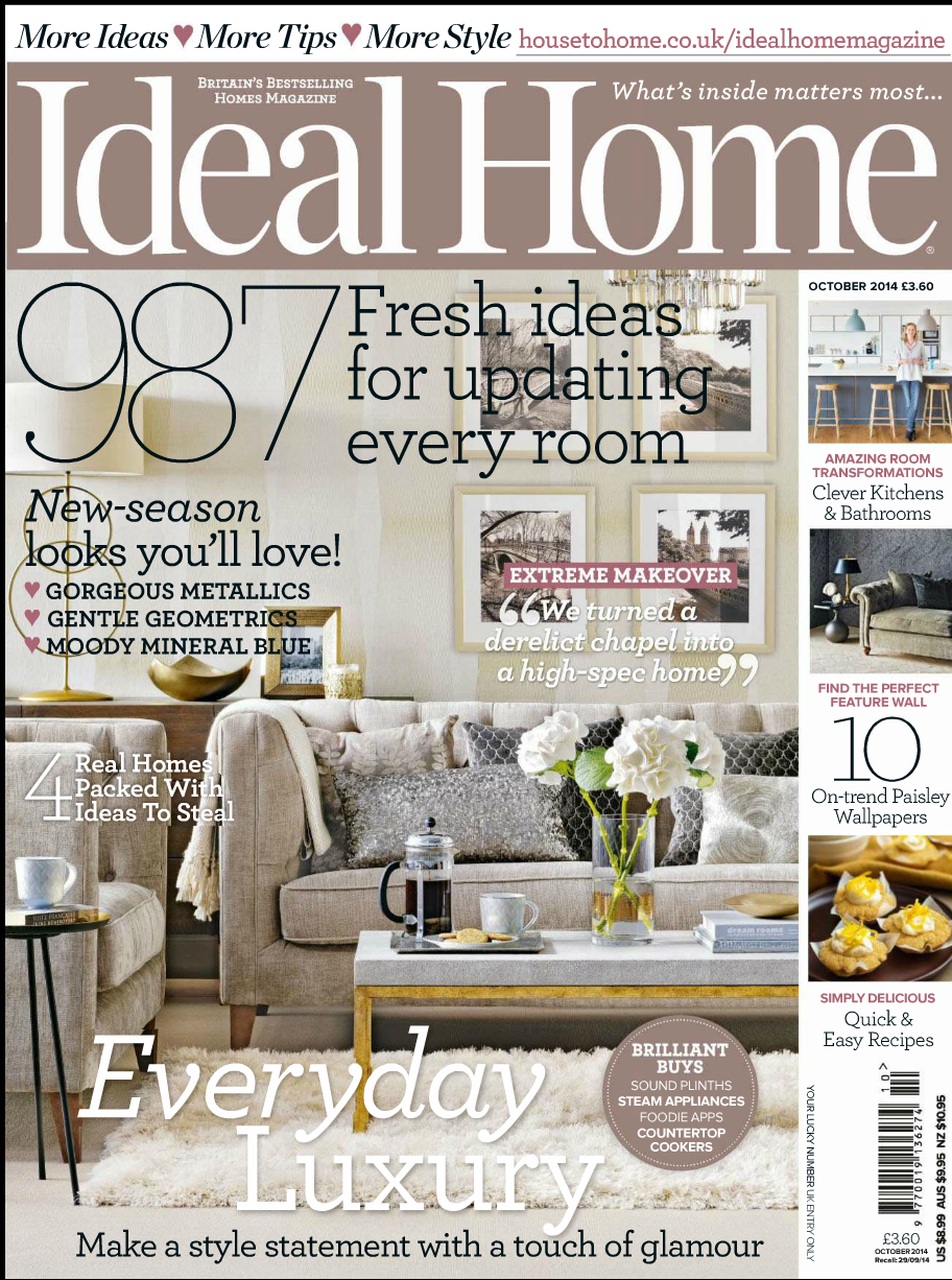 In the Press – Kitchen diner featured in October's Ideal Home magazine.