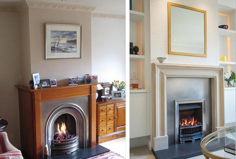 Edinburgh interior design before and after
