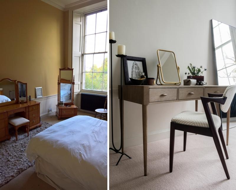 Interior design Edinburgh before & after