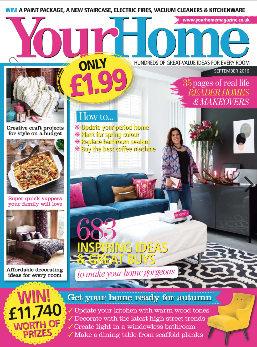 your home Sept 16 page cover