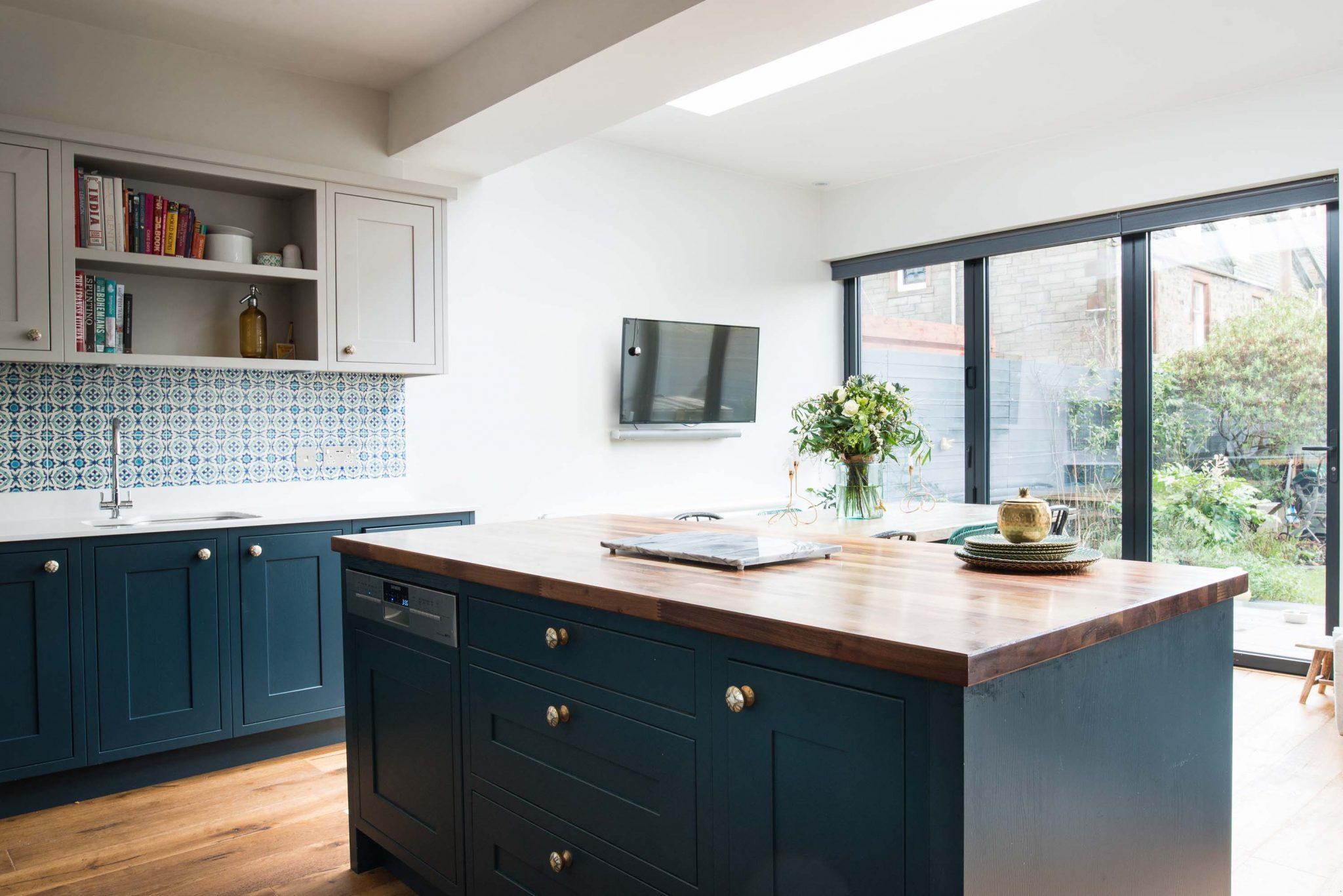 City Kitchen Extension - Interior Designers Edinburgh, Scotland ...