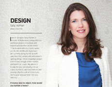 Robertson Lindsay Interior design in the press