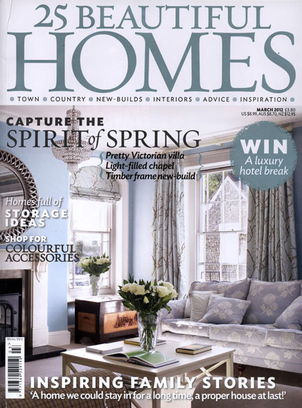 In the press – 25 Beautiful Homes feature of our Fife steading project