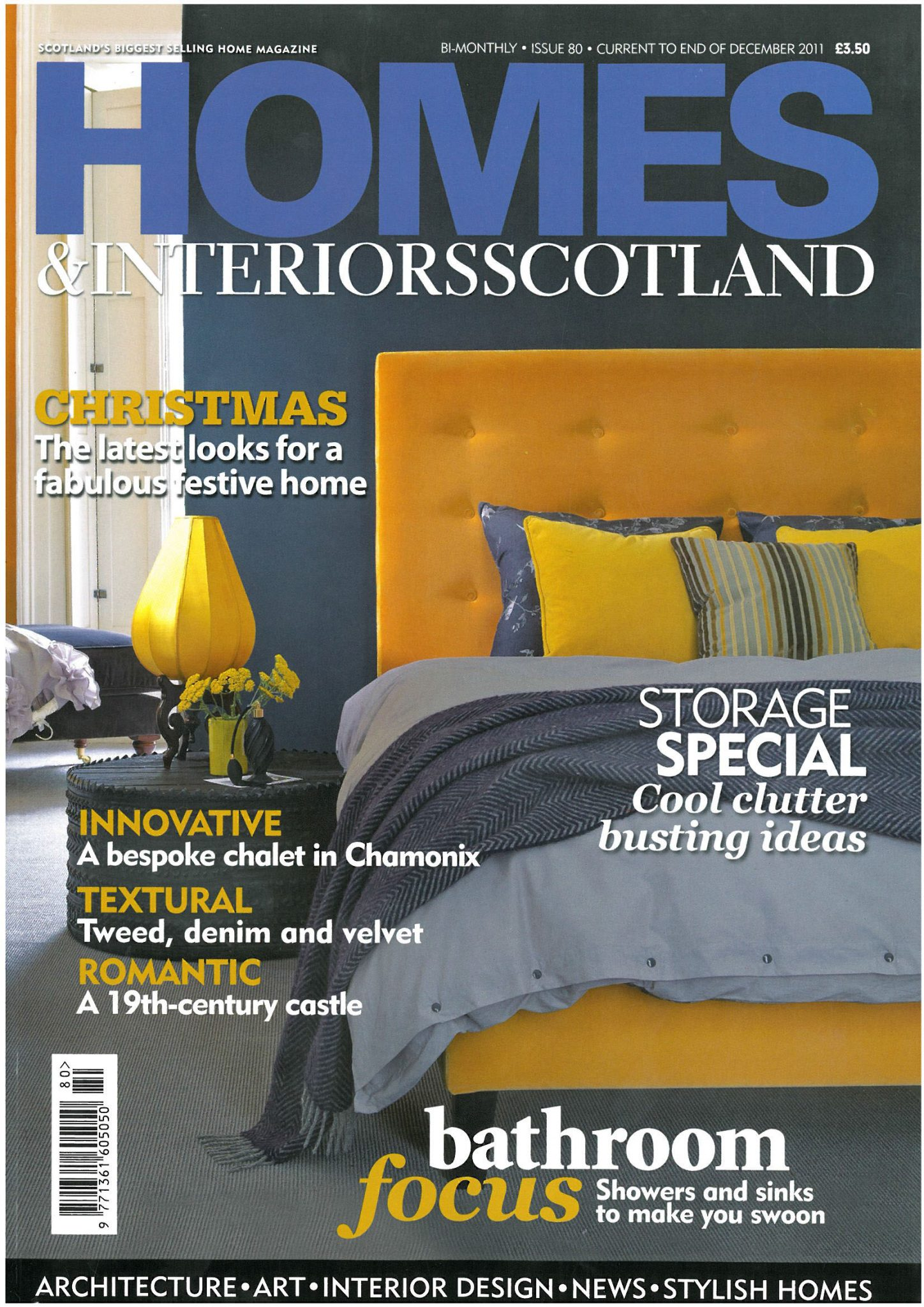 In the Press – Homes & Interiors Scotland feature