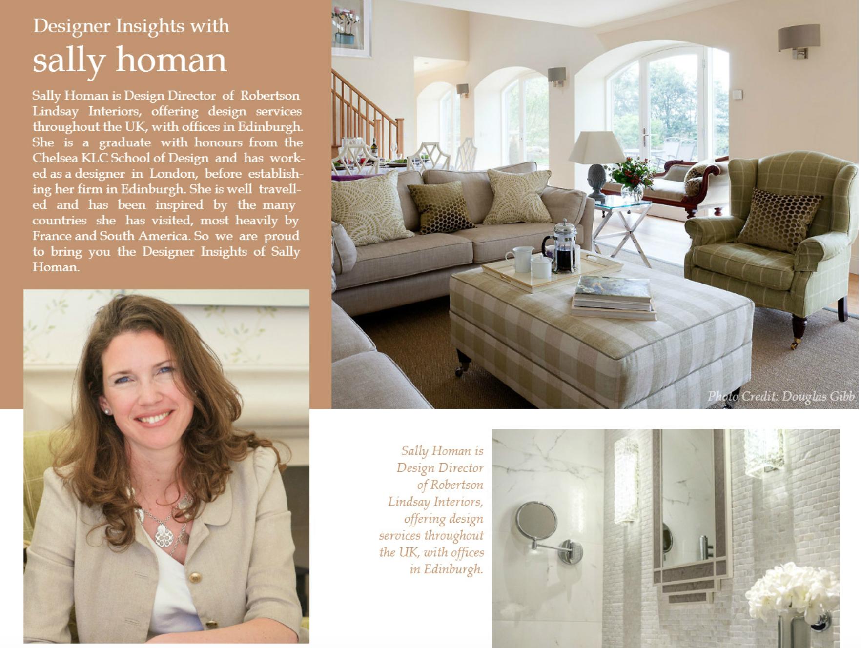 Designer Insights – interview with director Sally Homan