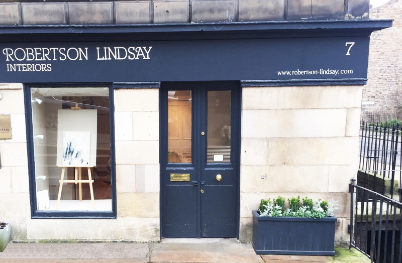 Edinburgh interior design studio Robertson Linday
