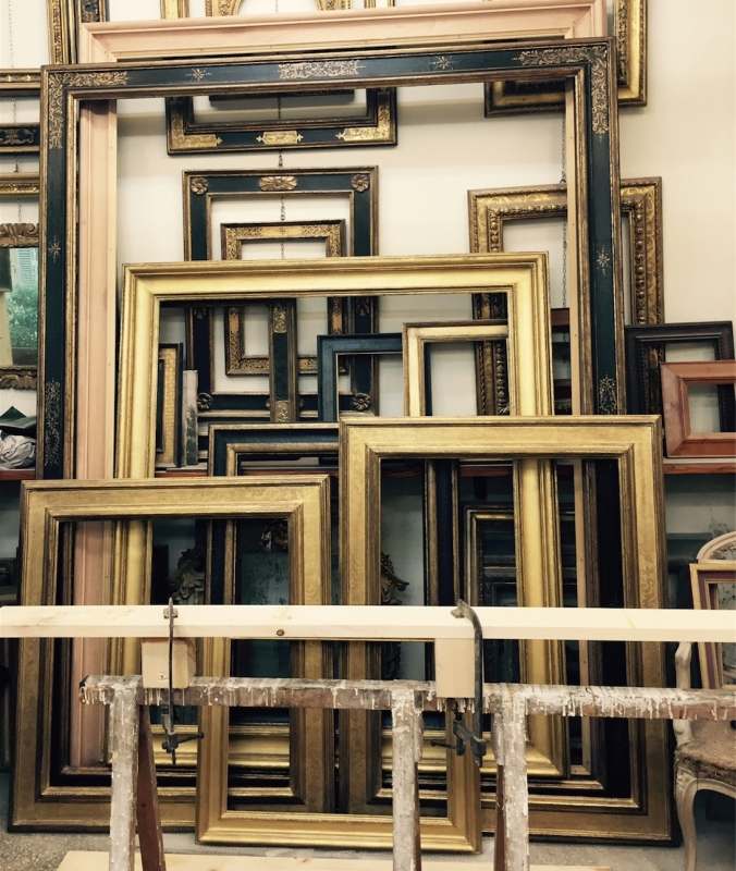 artisan picture frames rome