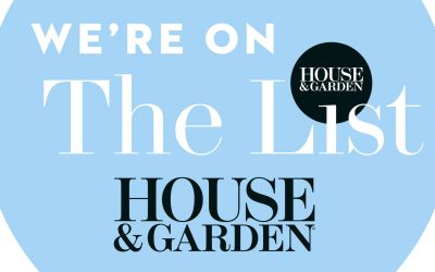We're on The List! (House & Garden)